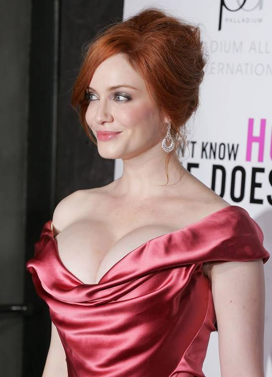 Christina Hendricks Fashion police is back!