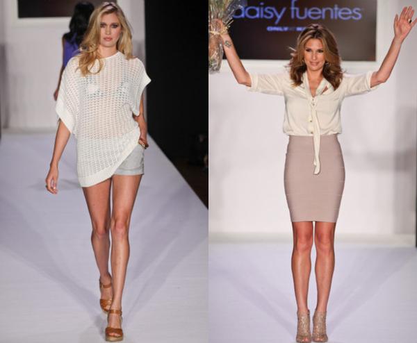 Daisy Fuentes 2 NY Fashion Week: Viktorija Bowers