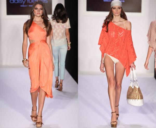 Daisy Fuentes NY Fashion Week: Viktorija Bowers