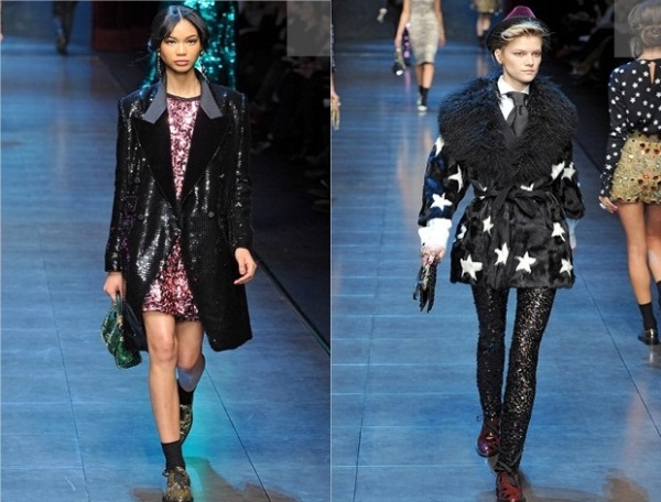 Dolce and Gabbana Ready To Wear jesen zima 2011 2012 2 Jesenji trend: Svetlucavo!
