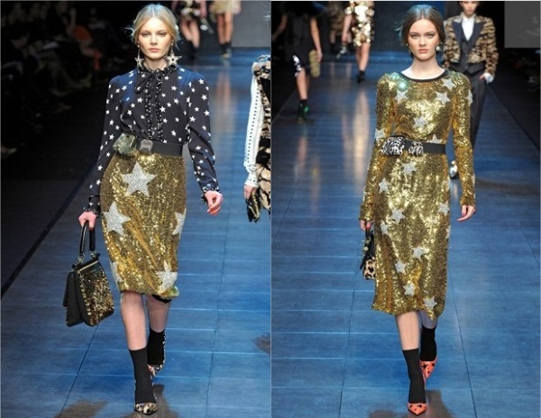 Dolce and Gabbana Ready To Wear jesen zima 2011 2012 Jesenji trend: Svetlucavo!