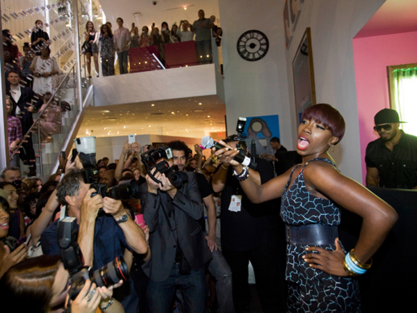 Estelle Vogue Fashions Night Out New York