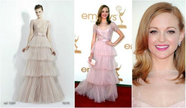 Jayma Mays2 Fashion Police   Emmy 2011.