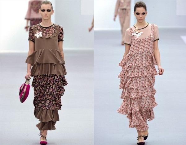 Just Cavalli2 Jesenji trendovi: karneri i slojevite suknje