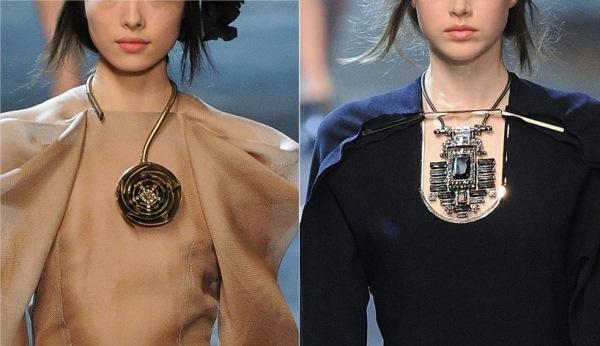 Lanvin ogrlice Trend: Marame, mašne, kravate ili ogrlice