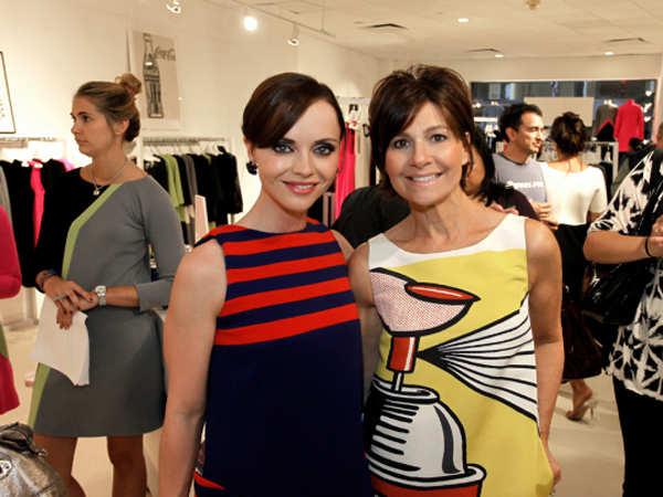 Lisa Perry Christina Ricci Vogue Fashions Night Out New York