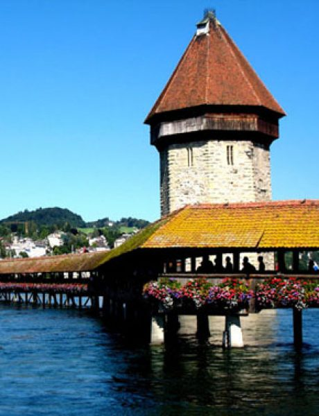 Najlepši mostovi sveta: Kapellbrücke, Lucern
