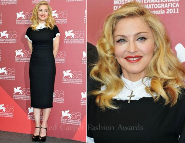 Madonna WEce Film Festival Photocall Fashion Police   Filmski festival u Veneciji