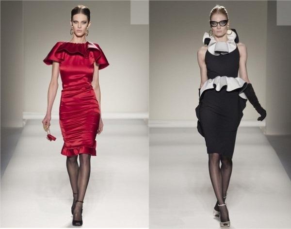 Moschino2 Jesenji trendovi: karneri i slojevite suknje