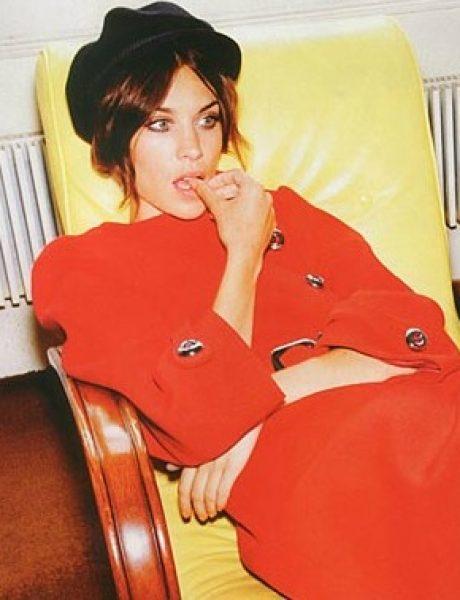 """Alexa Chung za """"Harper's Bazaar UK"""" – oktobar 2011."""