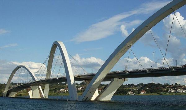 Ponte22 Najlepši mostovi sveta: Most Žuzelina Kubičeka, Brazil