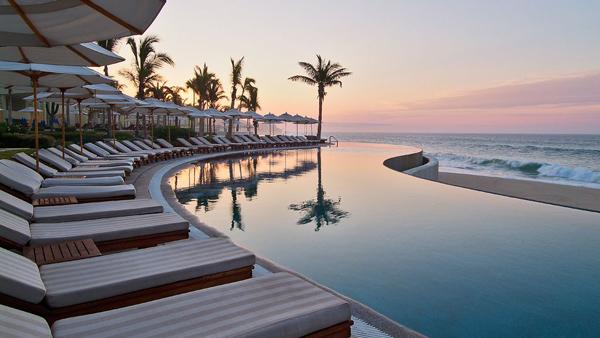 Privatna vila Los Cabos Mexico Bazeni koji se stapaju sa horizontom