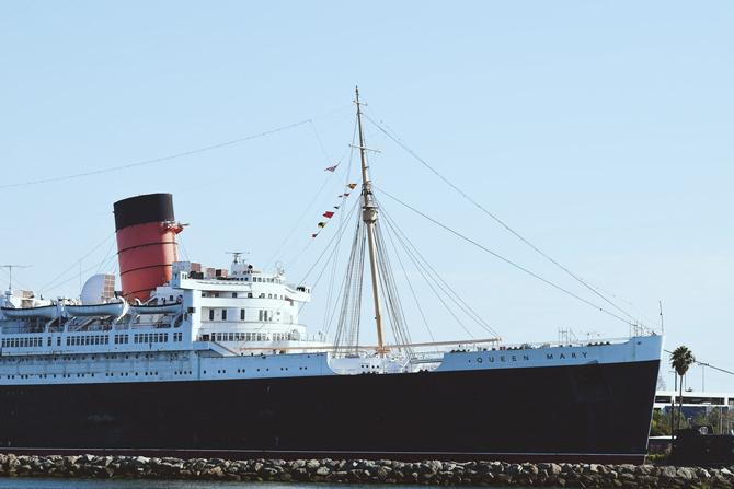 Queen Mary 2 Prekookeanski lepotani