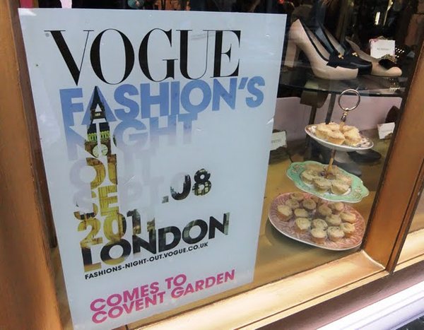 VFNO Vogue Fashion`s Night Out London