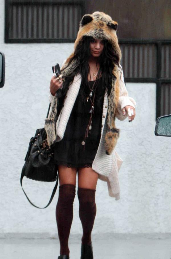 Vaneesa Hudgens Fox Hat Cutie 2 Lekcije o modi by Vanessa Hudgens