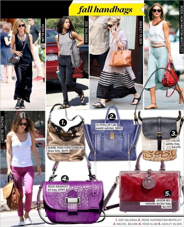 WWSW fallhandbags red5 Moda Holivuda: Trend izveštaj
