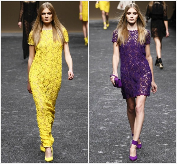 a Blumarine predlaže jarke boje za jesen 2011.
