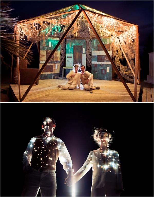 astronomy wedding ideas 21 Under the Veil of a Fairytale