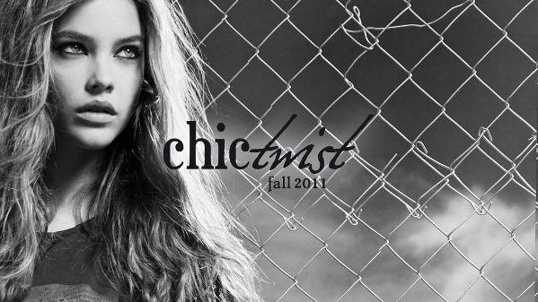 barbara palvin str Stradivarius kampanja za jesen 2011: Chic Twist