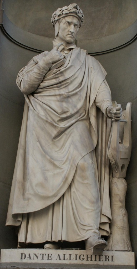 dante alighieri uffizi1 521x1024 Rinascimento: Dante Alighieri (1265 1321)