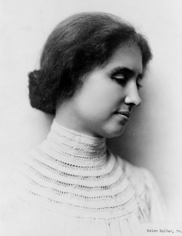 devojka Ljudi koji su pomerali granice   Helen Keller