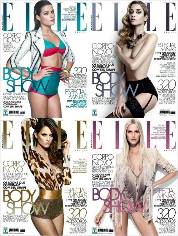 ellecoverff1 Elle Brazil   septembar 2011.