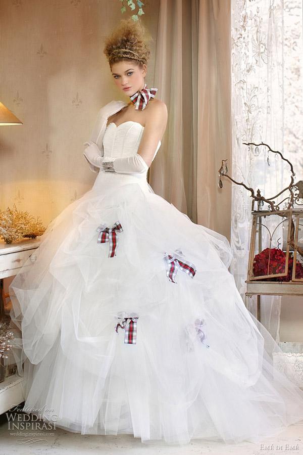 eme di eme fall 2011 wedding dresses Emé di Emé, jesen 2011: vintidž stil