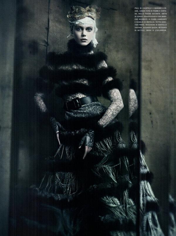 haute couture vogue italia september 2011 3 The Haute Couture for Vogue Italia, septembar 2011.