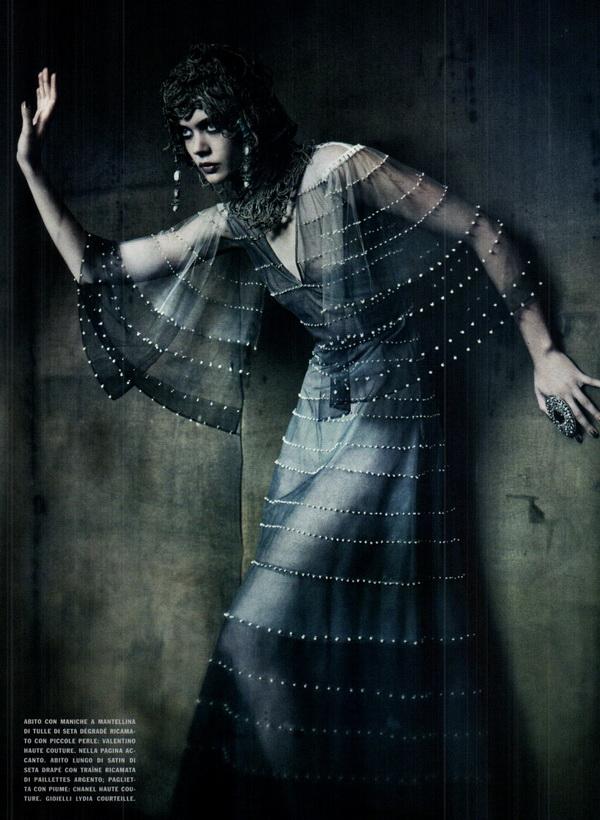 haute couture vogue italia september 2011 7 The Haute Couture for Vogue Italia, septembar 2011.