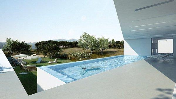 house pool design Moderan dizajn: vinograd i vila
