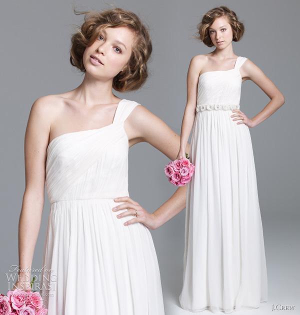 j crew wedding dresses 2011 lucienne gown J.Crew, jesen 2011: klasična lepota kao inspiracija