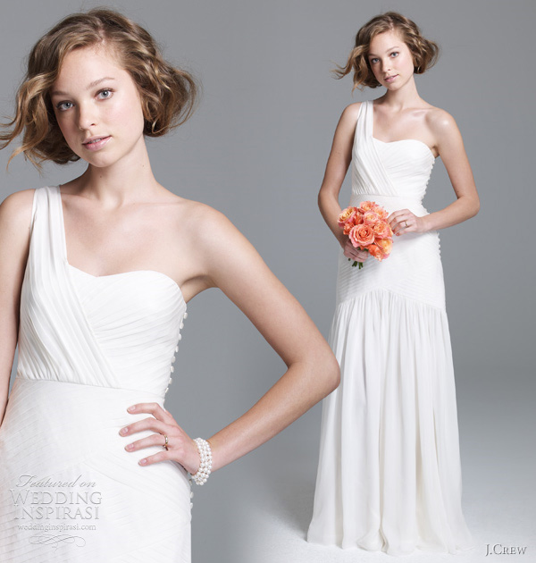 jcrew georgina wedding dress 2011 J.Crew, jesen 2011: klasična lepota kao inspiracija