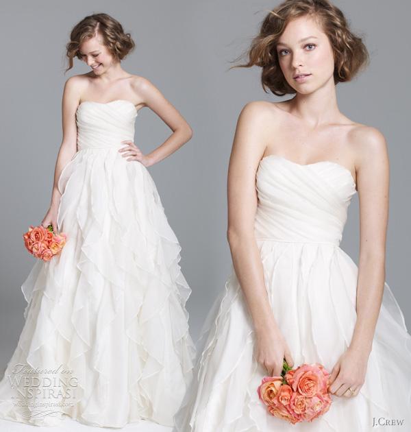 jcrew wedding dresses fall 2011 J.Crew, jesen 2011: klasična lepota kao inspiracija