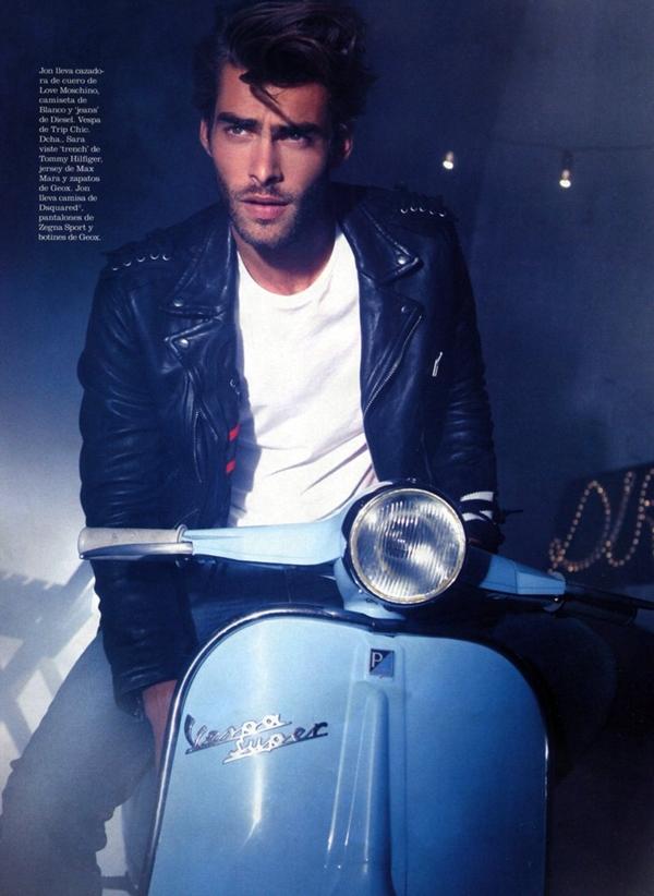 "jonked4 Jon Kortajarena za oktobarski ""Elle España"""