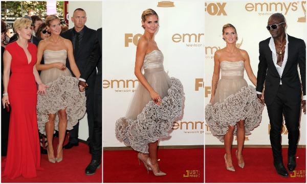klum1 Fashion Police   Emmy 2011.