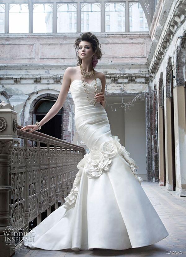 lazaro wedding dresses fall 2011 3164 Lazaro venčanice jesen/zima 2011: bajkovito i ženstveno