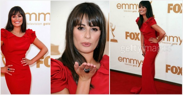 lea misel Fashion Police   Emmy 2011.