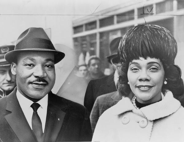 martin luther king and coretta scott king Ljudi koji su pomerali granice: Martin Luther King