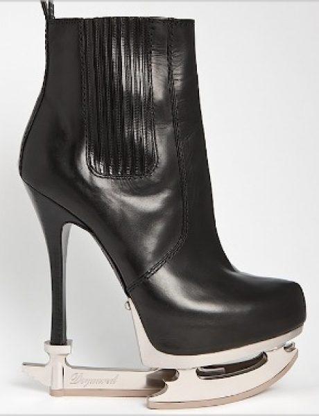 DSquared2: Čizme ili klizaljke?