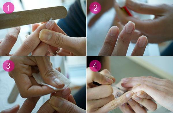 """poliranje nokta Kako """"popraviti"""" polomljen nokat?"""