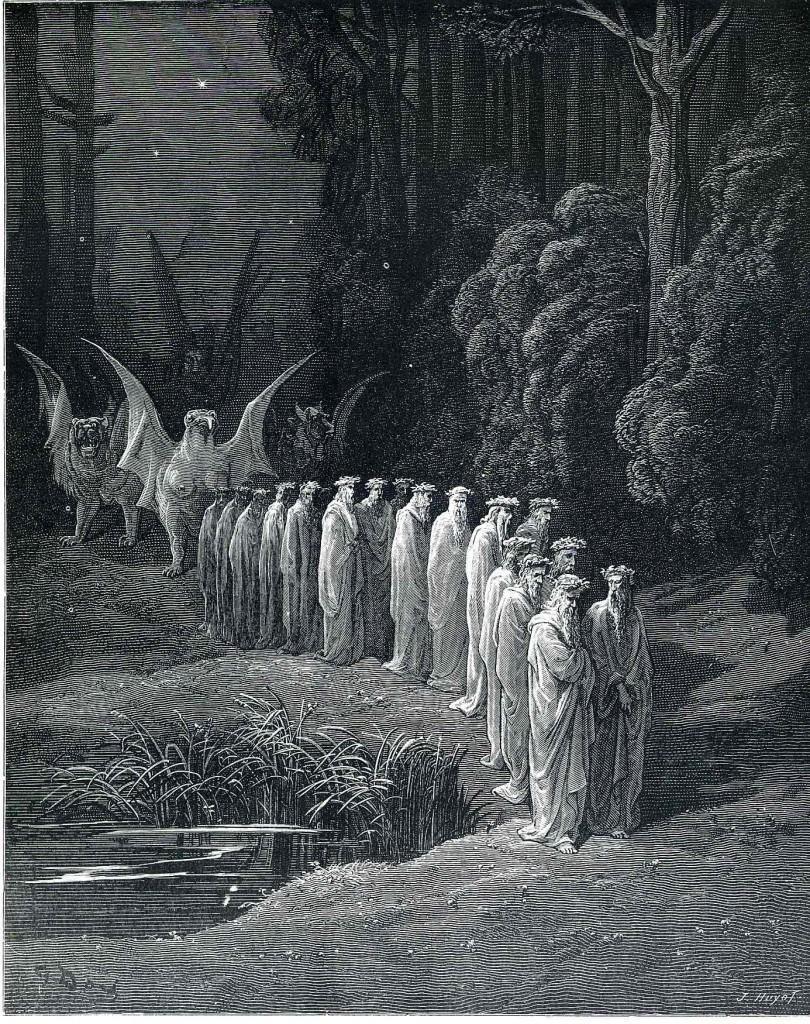purgatorio 810x1024 Rinascimento: Dante Alighieri (1265 1321)