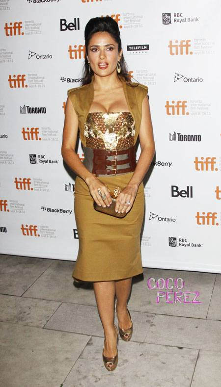 salma hayek toronto film festival wenn3505067  oPt Fashion police is back!
