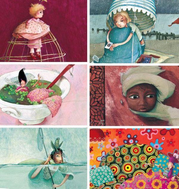 slika9 Rebeka Dotremer   ilustratorka zaboravljenih princeza
