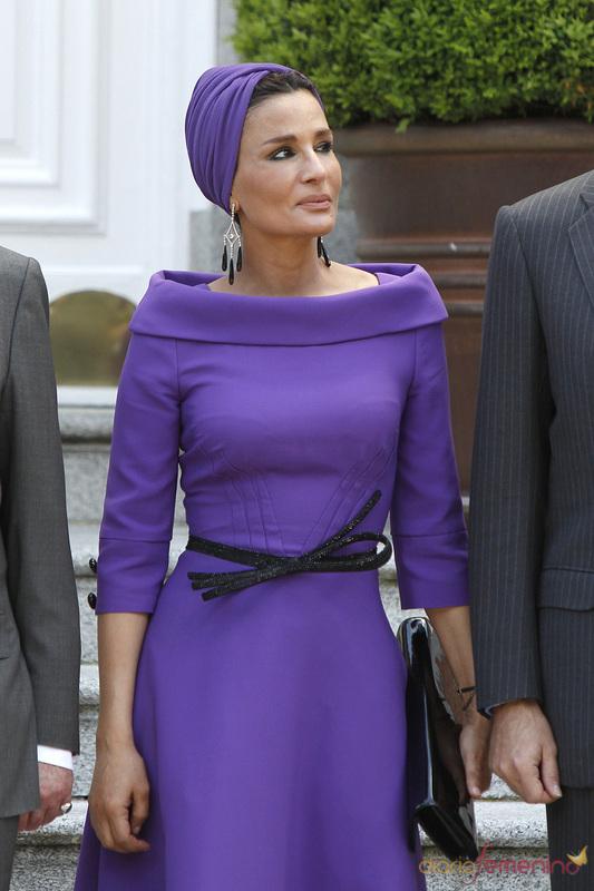 za tekst 2 Royal style: Sheikha Mozah bint Nasser Al Missned