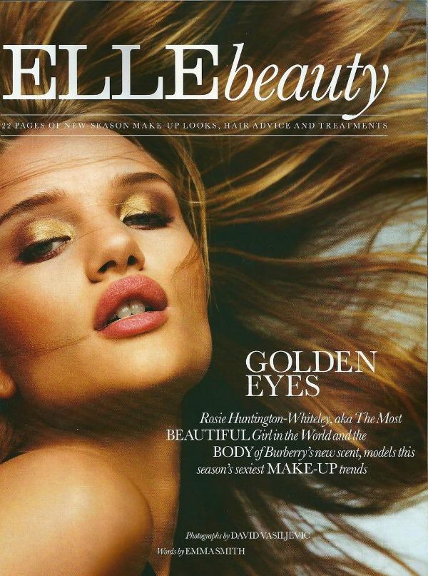 111 Elle UK Beauty: Predlozi za oktobar uz Rosie Huntington Whiteley