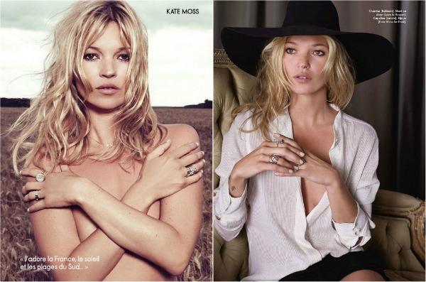 1111 Kate Moss za oktobarski Elle France: povratak prirodi