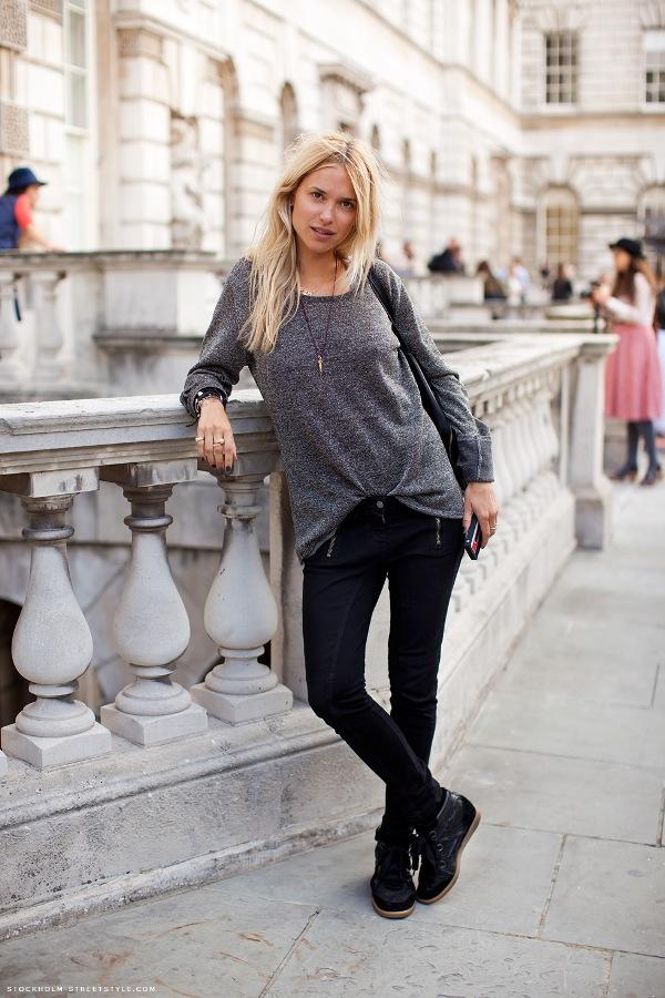 212396 980 Stockholm Street Style: jesen i moda se vole