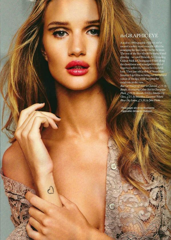 411 Elle UK Beauty: Predlozi za oktobar uz Rosie Huntington Whiteley