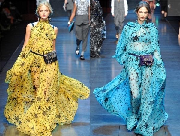 6. Dolce Gabbana haljine Zvezdani jesenji trend