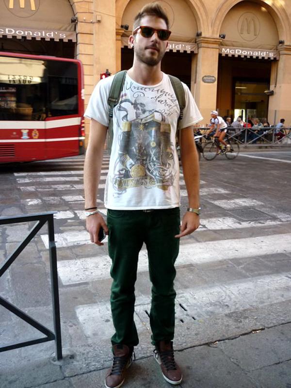 63 La Moda Italiana: Bologna Style Catcher